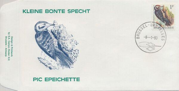 Belgium 1990 Birds (A) FDCa