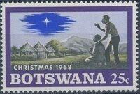 Botswana 1968 Christmas d