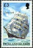 Falkland Islands 1989 Ships of Cape Horn o