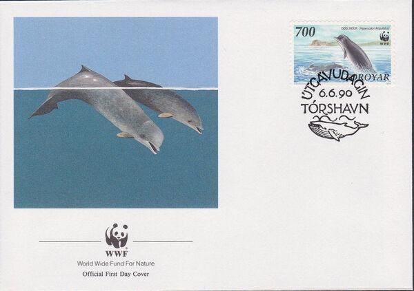 Faroe Islands 1990 WWF - Whales k