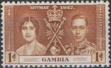 Gambia 1937 George VI Coronation a