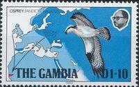 Gambia 1983 Osprey Breeding Range d