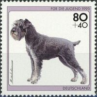 Germany-Unified 1995 Dogs b
