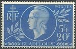 Guadeloupe 1944 French Red Cross and National Relief a