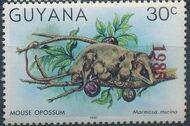 Guyana 1985 Wildlife (Overprinted 1985) j