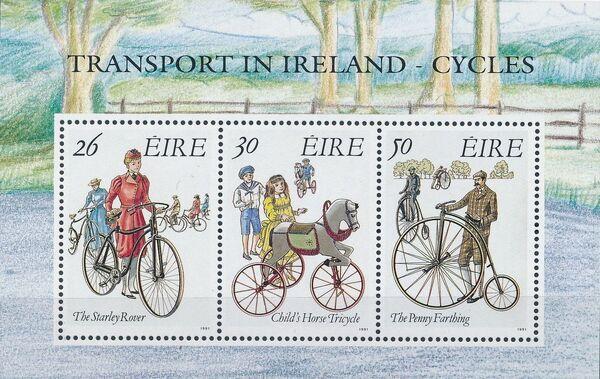 Ireland 1991 Transport in Ireland - Cycles e