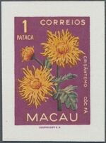 Macao 1953 Indigenous Flowers ha