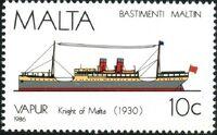 Malta 1986 Maltese Ships (4th Series) b