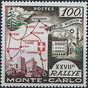 Monaco 1958 27th Monte Carlo Automobile Rally a