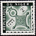 Niger 1962 Cross of Agadez - Postage Due Stamps c