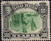 Nyassa Company 1901 D. Carlos I (Giraffe and Camels) z