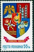 Romania 1976 Coat of Arms of Romanian Districts c