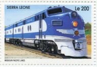Sierra Leone 1995 Railways of the World d
