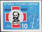 Albania 1963 100th Anniversary of Red Cross h