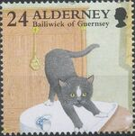 Alderney 1996 In Praise of the Cat b