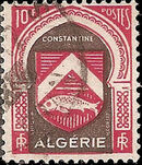 Algeria 1948 Coat of Arms (2nd Group) b