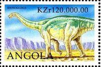 Angola 1998 Prehistoric Animals (3rd Group) e