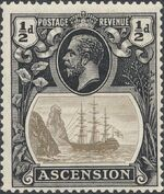 Ascension 1924 Seal of the Colony ac