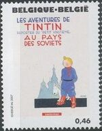 Belgium 2007 Tintin book covers translated a