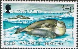 British Antarctic Territory 1992 WWF Seals and Penguins e