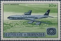 Burundi 1967 Opening of the Jet Airport at Bujumbura and International Tourist Year a