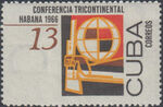 Cuba 1966 Conference of Asian, African and South American Countries c