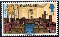 Guernsey 1974 U.P.U. d