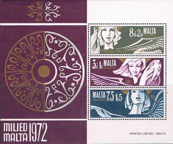 Malta 1972 Christmas g