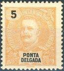 Ponta Delgada 1897 D. Carlos I b