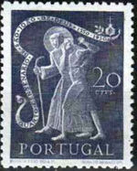 Portugal 1950 400th anniversary of the death of St. John of God a