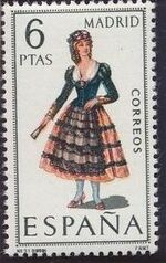 Spain 1969 Regional Costumes Issue g