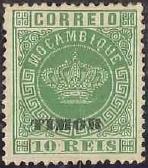 """Timor 1884 Stamps of Macau Overprinted """"TIMOR"""" b"""