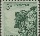 United States of America 1955 New Hampshire - The Old Man of the Mountains