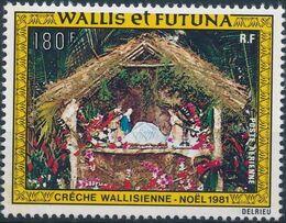 Wallis and Futuna 1981 Christmas a