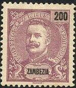 Zambezia 1898 D. Carlos I l
