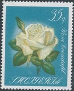 Albania 1967 Roses f
