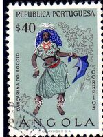 Angola 1957 Indigenous Peoples of Angola f
