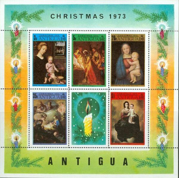 Antigua 1973 Christmas g