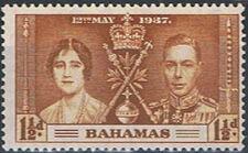 Bahamas 1937 George VI Coronation b
