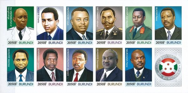Burundi 2012 Presidents of Burundi s