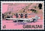 Gibraltar 1982 Airplanes m