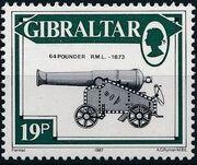 Gibraltar 1987 Guns and Artillery i