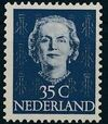 Netherlands 1949 Queen Juliana - En Face (1st Group) i