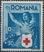 Romania 1941 Red Cross e