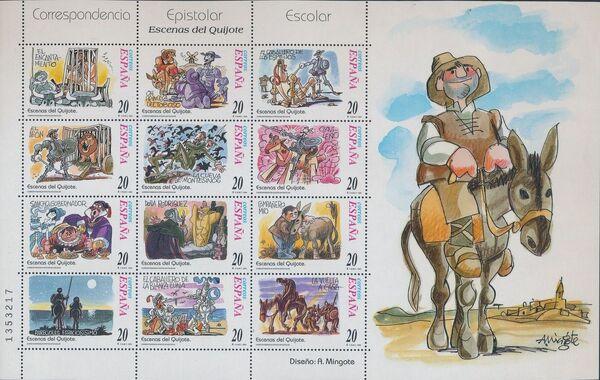 """Spain 1998 Scenes from """"Don Quixote"""" Sb"""