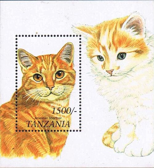 Tanzania 1999 Cats of the World m