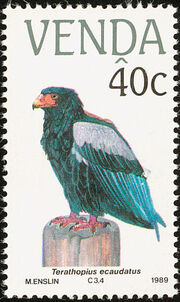 Venda 1989 Endangered Birds c
