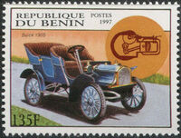 Benin 1997 Antique Automobiles a