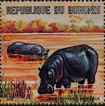 Burundi 1971 Animals c