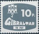 Gibraltar 1976 Postage Due Stamps e